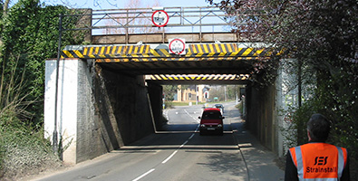 Bridge strike monitoring