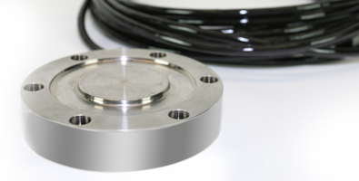 Low profile compression load cells